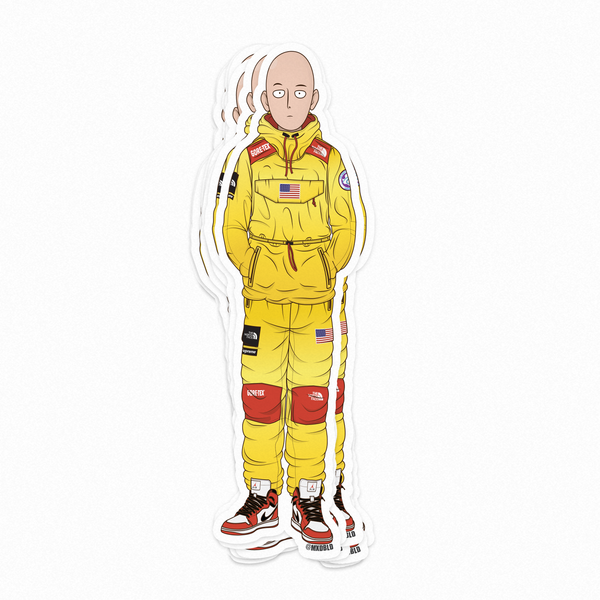 Saitama (One Punch Man) Stickers