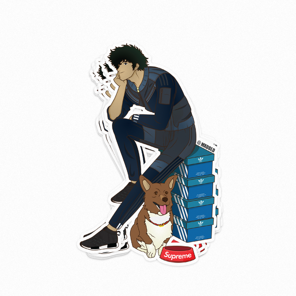 Spike (Cowboy Bebop) Sticker