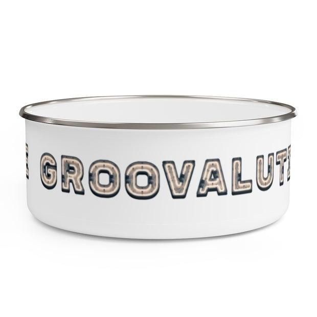 The Groovalution In Lights Enamel Bowl