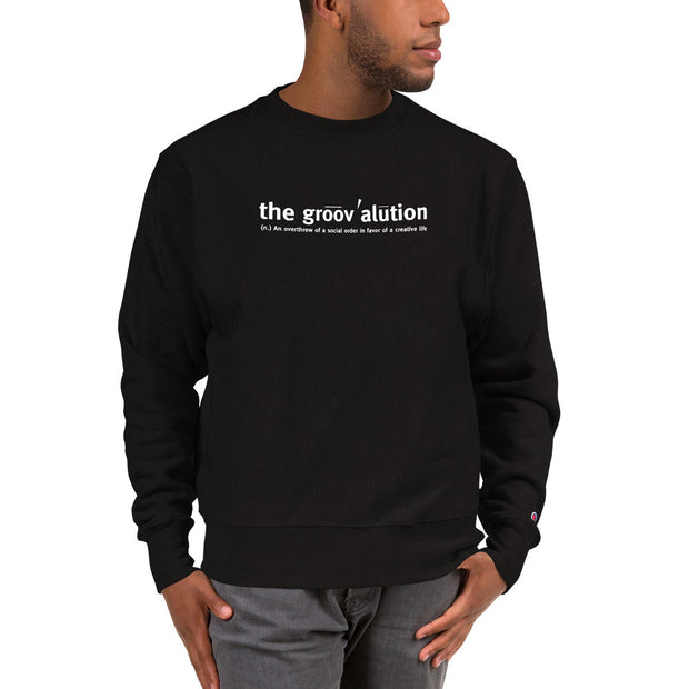 The Groovalution Unisex Champion Sweatshirt