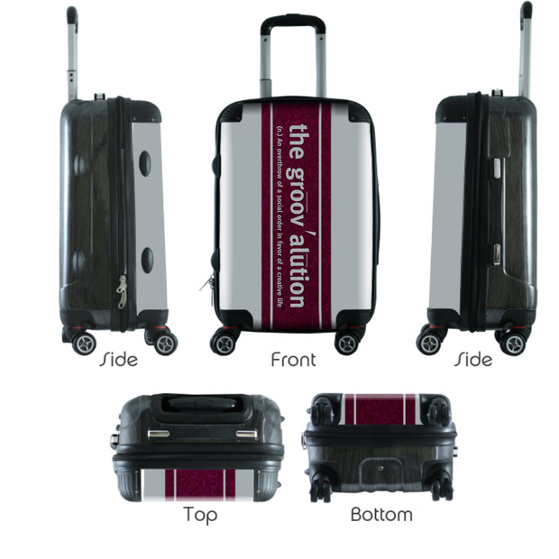 The Groovalution World Traveling Carry On