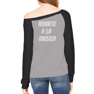 Reversed Rindete a la Musica Sponge Fleece Sweatshirt, Reversed Surrender to the Music Sponge Fleece Sweatshirt