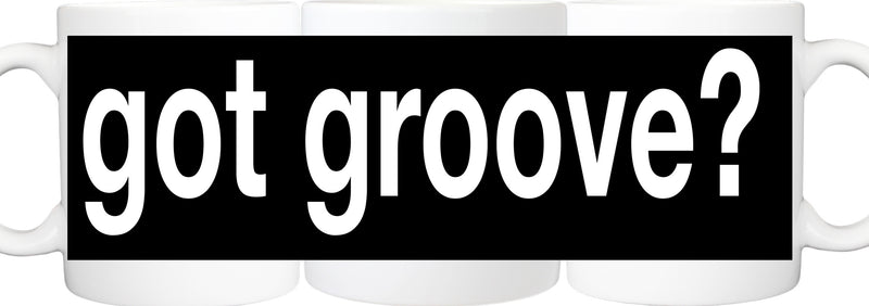 Black Got Groove Mug