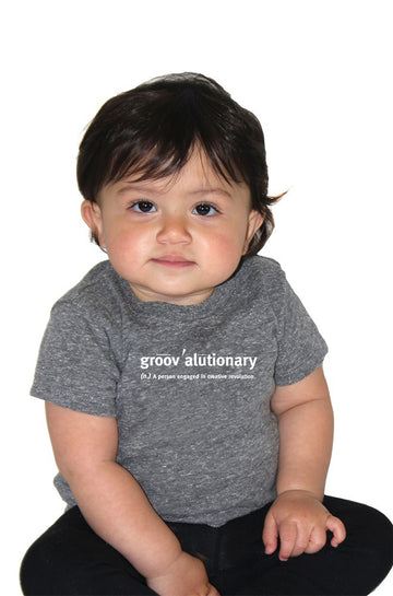 Groovalutionary Infant Eco Triblend Shirt