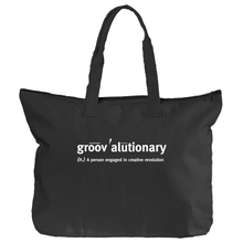 Groovalutionary Canvas Tote