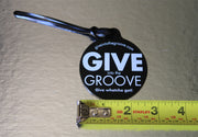 Give Into The Groove Luggage Tag