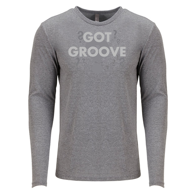 Got Groove Men's Long Sleeve Tri-Blend