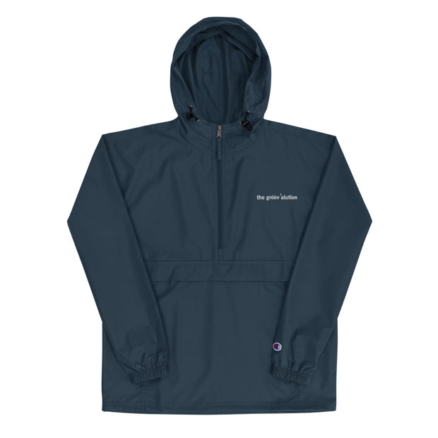 The Groovalution Embroidered Champion Packable Jacket