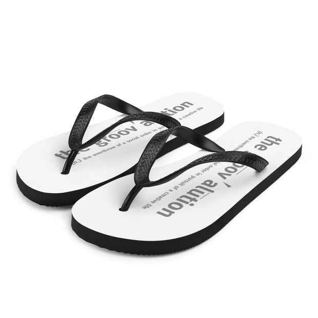 The Groovalution Travel Sandals