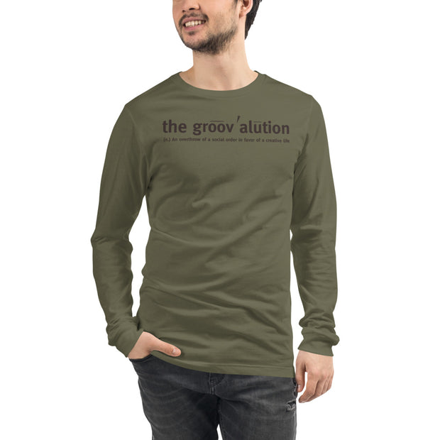 The Groovalution Unisex Long Sleeve