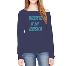 Rindete a la Musica Sponge Fleece Sweatshirt, Surrender to the Music Sponge Fleece Sweatshirt