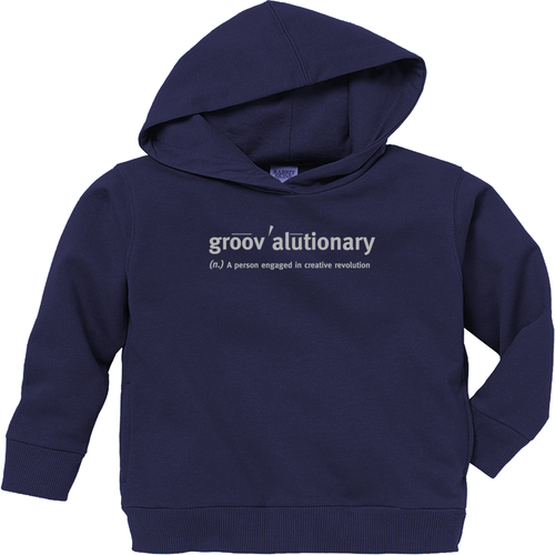 Groovalutionary Toddler Pullover Fleece Hoodie