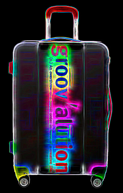 Rainbow Groovalution Suitcase