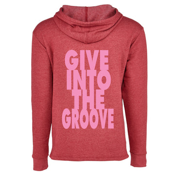Unisex Give Into The Groove Hoodie