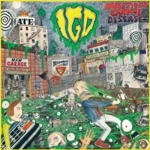 INFECTIOUS GARAGE DISEASE CD