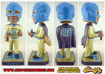 "BLOWLFY ""WEIRD WOBBLER"" BOBBLEHEAD! (THE LAST FIGURES EVER!)"