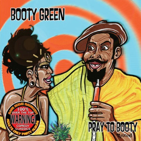BOOTY GREEN - PRAY TO BOOTY CD