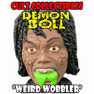 "GERETTA GERETTA ""DEMON DOLL"" ""WEIRD WOBBLER"" BOBBLEHEAD! (Signed by Geretta Geretta!)"