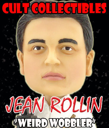 "JEAN ROLLIN OFFICIAL ""WEIRD WOBBLER"" BOBBLEHEAD! (VERY LOW QUANTITIES REMAINING - FILM STRIP NOT INCLUDED!)"