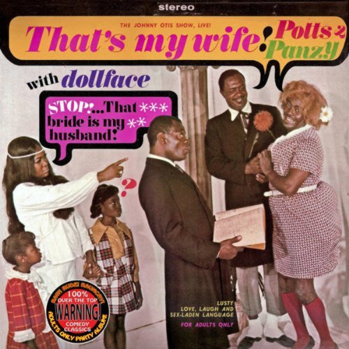 POTTS & PANZY (WITH DOLLFACE) - THAT'S MY WIFE! (DOWNLOAD)