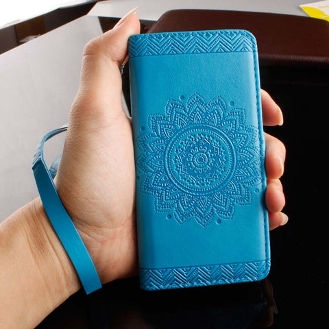 For Samsung Galaxy G530 Cover Datura Flowers Leather Flip Wallet Case For Samsung Galaxy G531H G531F SM-G531F Grand Prime Fundas