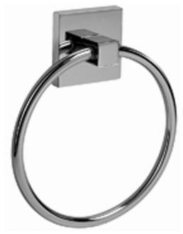 Graff G-9106-SN Contemporary Towel Ring, Steelnox, NEW, OPEN BOX, box cold be damage