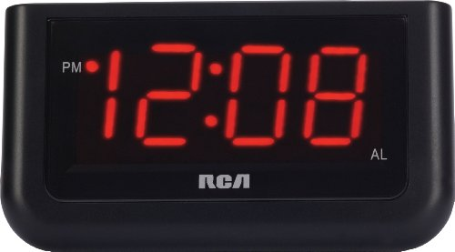 "RCA Digital Alarm Clock with Large 1.4"" Display"