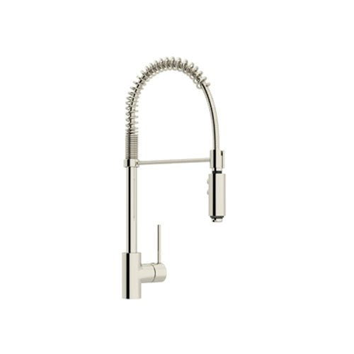 Rohl LS64L-PN-2 Architectural Side Level Pro Pull-Down Kitchen Faucet, Polished Nickel, NEW, OPEN BOX, box cold be damage