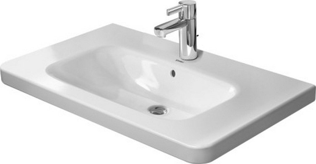 Duravit 232080 DuraStyle 31-1/2 x 18-7/8 Inch Wall Mounted Bathroom Sink with Overflow, NEW, OPEN BOX, box cold be damage
