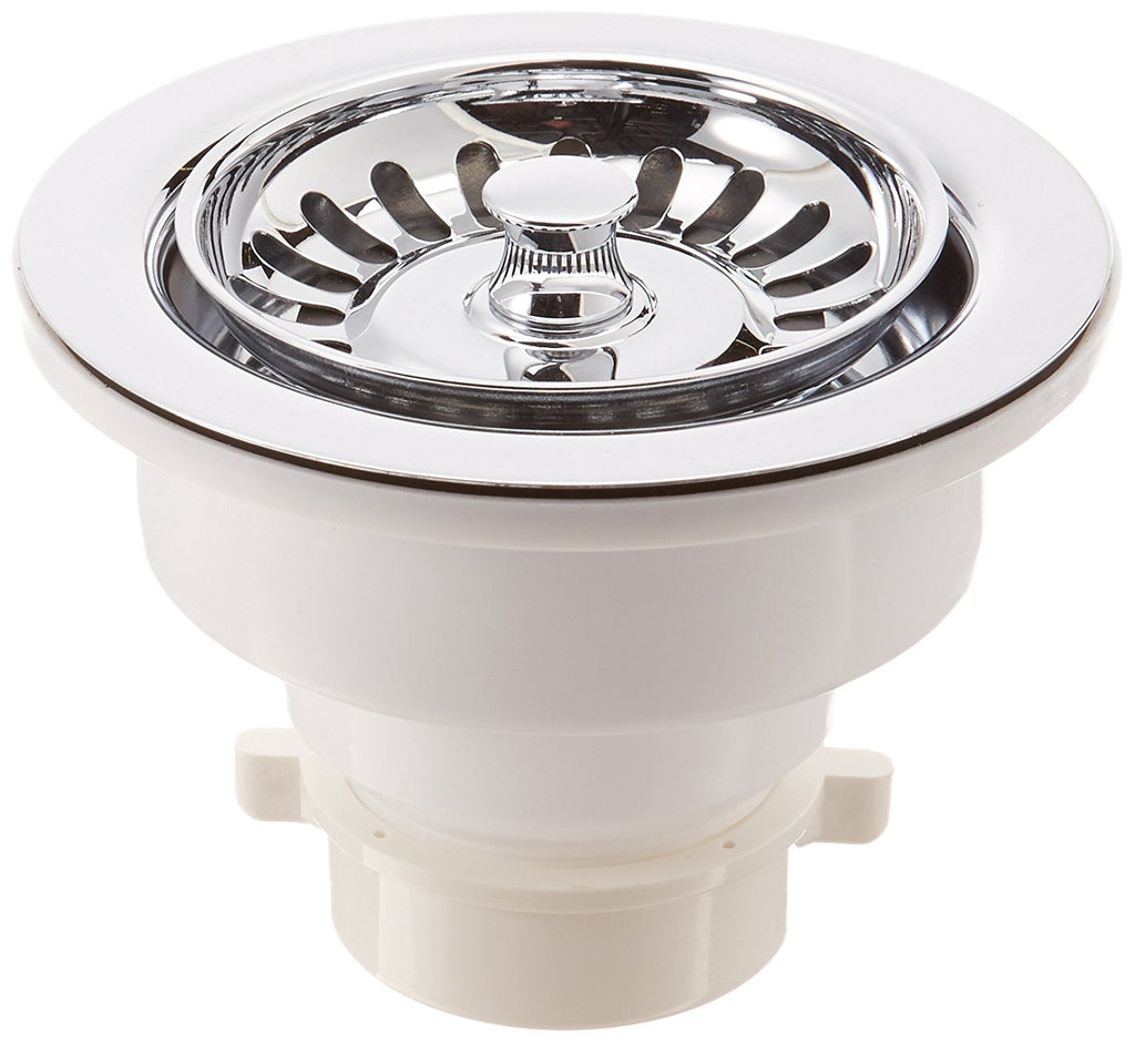 Mountain Plumbing 300CPB 3-1/2-Inch Kitchen Strainer, Polished Chrome, NEW, OPEN BOX, box cold be damage