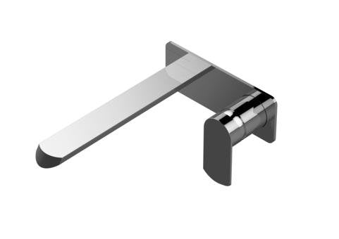 "Graff Phase G-6635-Lm45w-Pc-T Phase Wall- Faucet (71/2"" Spout) - Trim Only Polished Chrome, NEW, OPEN BOX, box cold be damage"
