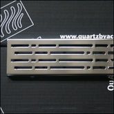 QuARTz by Aco 37403 Stainless steel mix shower channel grate.