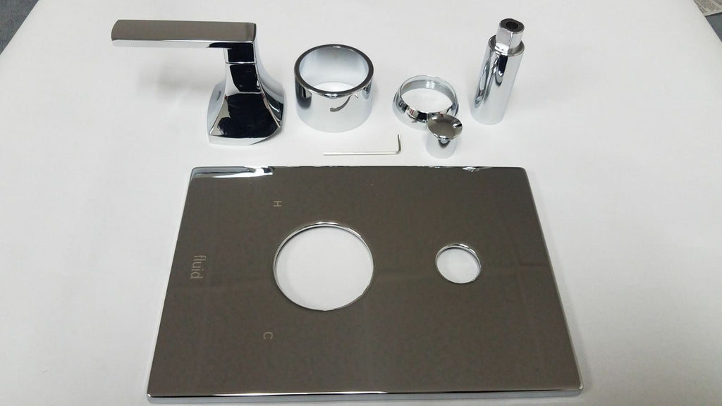 Fluid FP6021033 TRIM   and handle. Polished chrome, NEW, OPEN BOX, box cold be damage