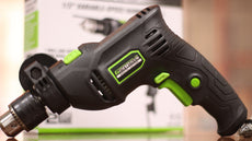 "Genesis Corded 1/2"" Hammer Drill 5A GHD1250SE Special Edition"