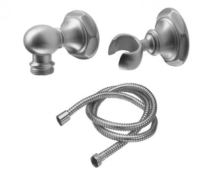California Faucet Venice Wall-Mount Hand shower KIT - POLISHED CHROME  9125-47-PC, NEW, OPEN BOX, box cold be damage