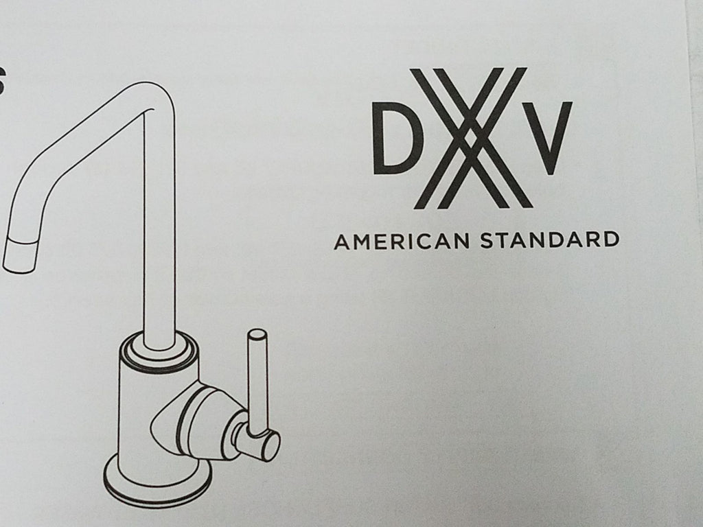 "DXV D35409000.355 ""Isle"" Single Hole Bar Faucet, NEW, OPEN BOX, box cold be damage"