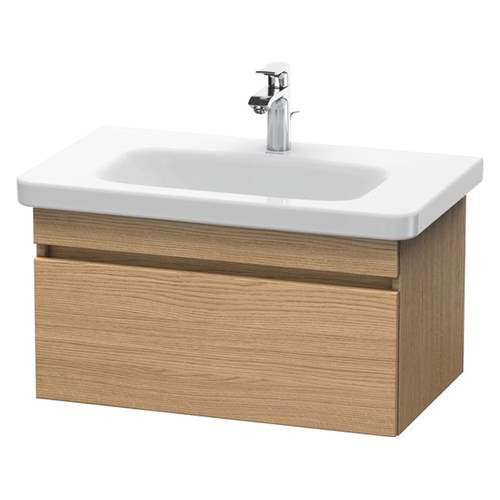 Duravit - DuraStyle vanity unit-wall mounted 1 pull out drawer, for #232080.  DS638105252