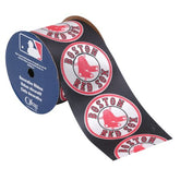 OFFRAY RIBBON BOSTON RED SOX MLB 2 1/2 INCHES x 9 FEET