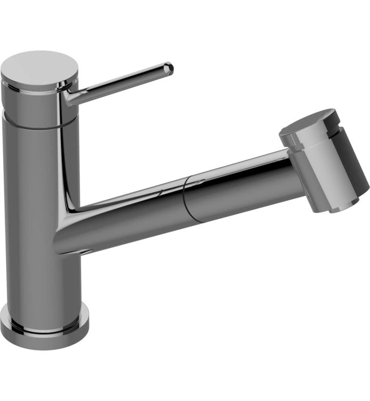 "Graff G-5425-LM53-PC M.E. 25 6 7/8"" Single Handle Deck Mounted Pull-Out Bar/Prep Kitchen Faucet With Finish: Polished Chrome, NEW, OPEN BOX, box cold be damage"