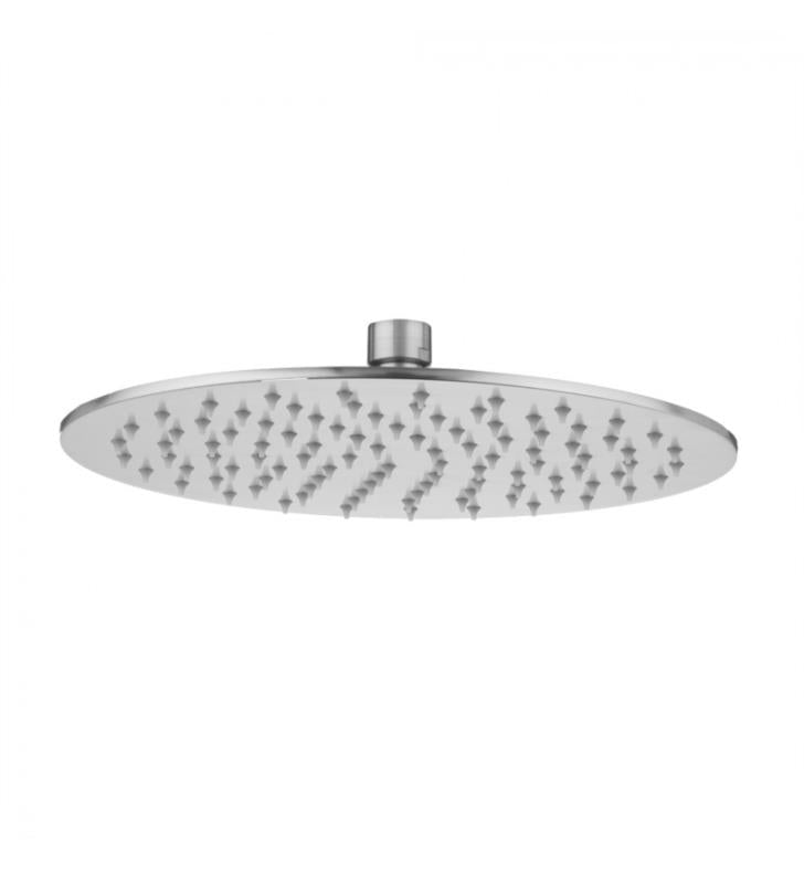 "Jaclo S210-2.0-PN Uptown Contempo 10"" Wall/Ceiling Mount Single-Function Round Rain Machine Showerhead With Finish: Polished Nickel And Flow Rate: 2.0 GMP, NEW, OPEN BOX, box cold be damage"