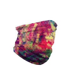 Chaotic Creation Seamless Face Mask Bandana - ElectroLivin, seamless mask - Rave Accessories, ElectroLivin  - ElectroLivin