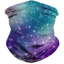 Constellations Seamless Mask Bandana - ElectroLivin, seamless mask - Rave Accessories, ElectroLivin  - ElectroLivin