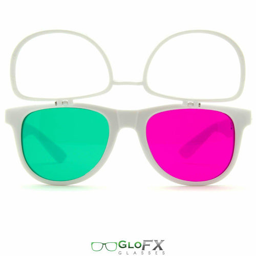 Flip 3Diffraction Glasses - ElectroLivin, Glasses - Rave Accessories, ElectroLivin  - ElectroLivin