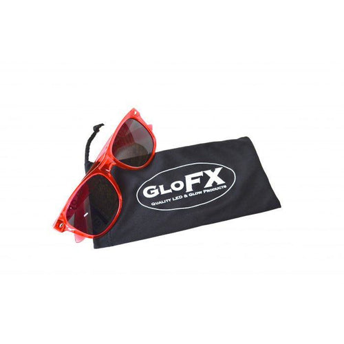GloFX Microfiber Carrying Case - ElectroLivin, Glasses - Rave Accessories, ElectroLivin  - ElectroLivin