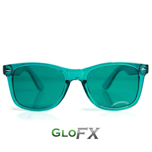 Aqua Color Therapy Sunglasses - ElectroLivin, Glasses - Rave Accessories, ElectroLivin  - ElectroLivin