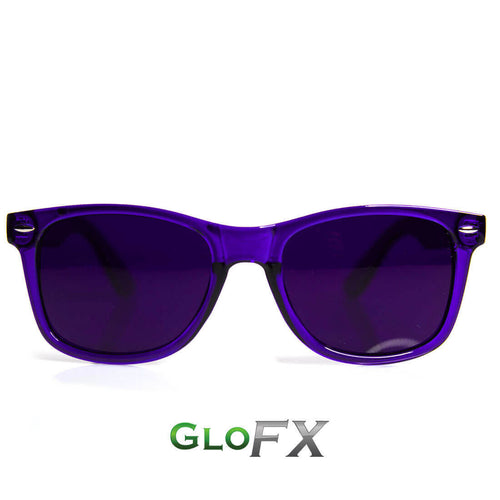Indigo Color Therapy Sunglasses - ElectroLivin, Glasses - Rave Accessories, ElectroLivin  - ElectroLivin