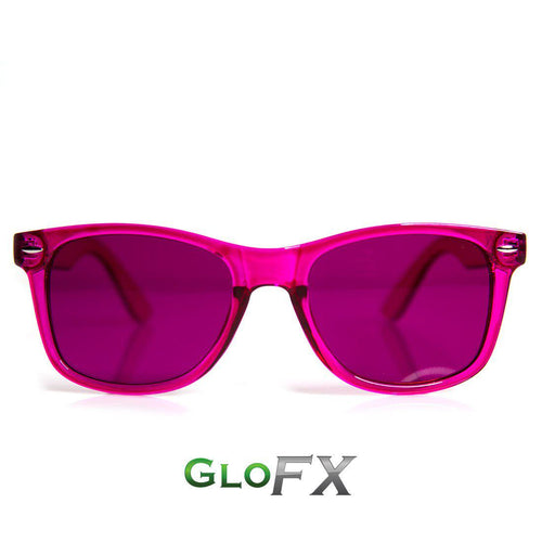 Magenta Color Therapy Sunglasses - ElectroLivin, Glasses - Rave Accessories, ElectroLivin  - ElectroLivin