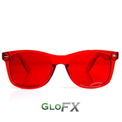 Red Color Therapy Sunglasses - ElectroLivin, Glasses - Rave Accessories, ElectroLivin  - ElectroLivin