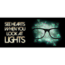 GloFX Heart Effect Diffraction Glasses - ElectroLivin, Glasses - Rave Accessories, ElectroLivin  - ElectroLivin