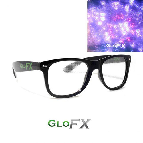 Heart Effect Diffraction Glasses - ElectroLivin, Glasses - Rave Accessories, ElectroLivin  - ElectroLivin